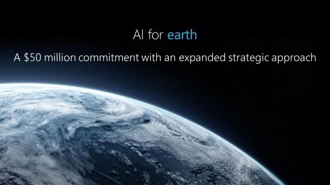 마이크로소프트 '지구환경 AI 프로젝트'. - 마이크로소프트 제공